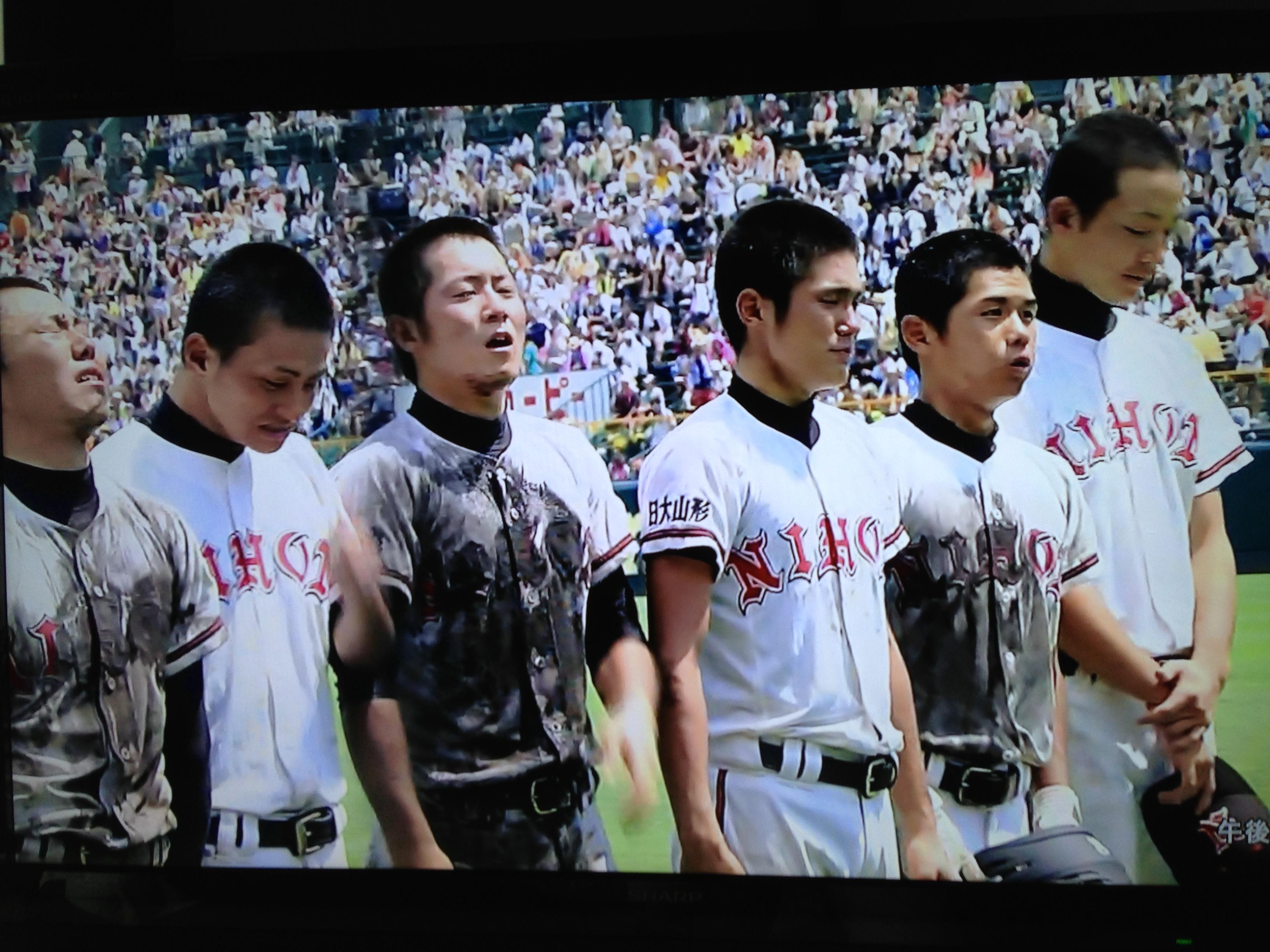 日大山形野球部の皆さん、甲子園...