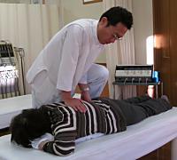 坐骨神経痛はこんな施術をします