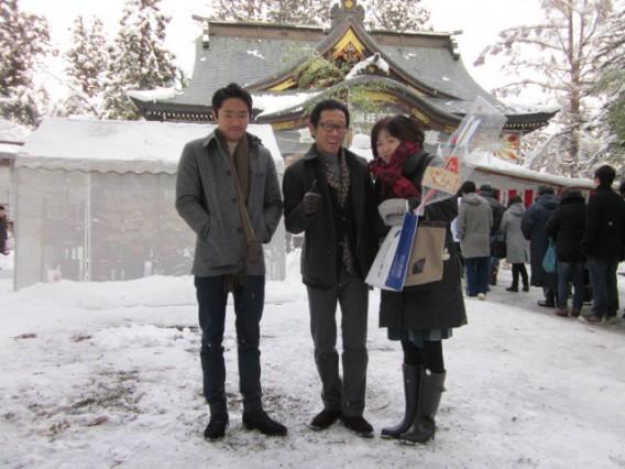 八幡神宮初詣