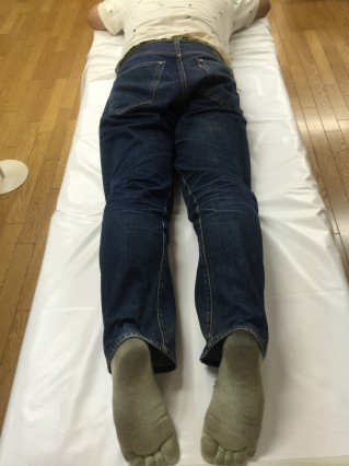 腰痛施術後